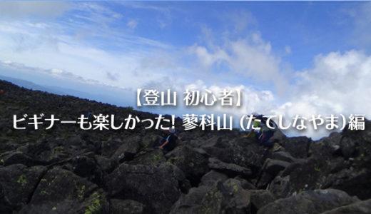 【登山 初心者】ビギナーも楽しかった!蓼科山 (たてしなやま)編