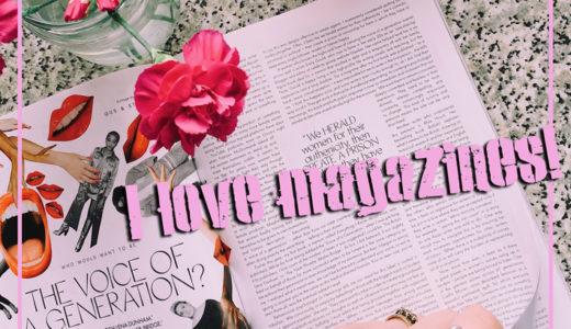 雑誌大好き主婦必見。隙間時間に読みたいだけ読書(情報収集)
